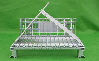 Wire folding container